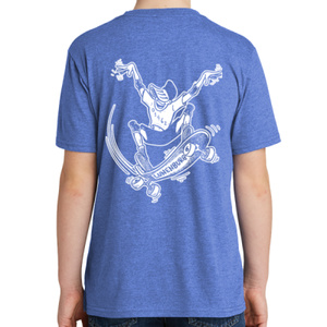 Youth Short Sleeve Tee – Royal Frost