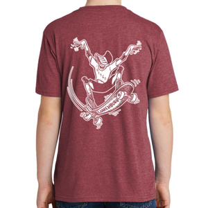 Youth Short Sleeve Tee – Red